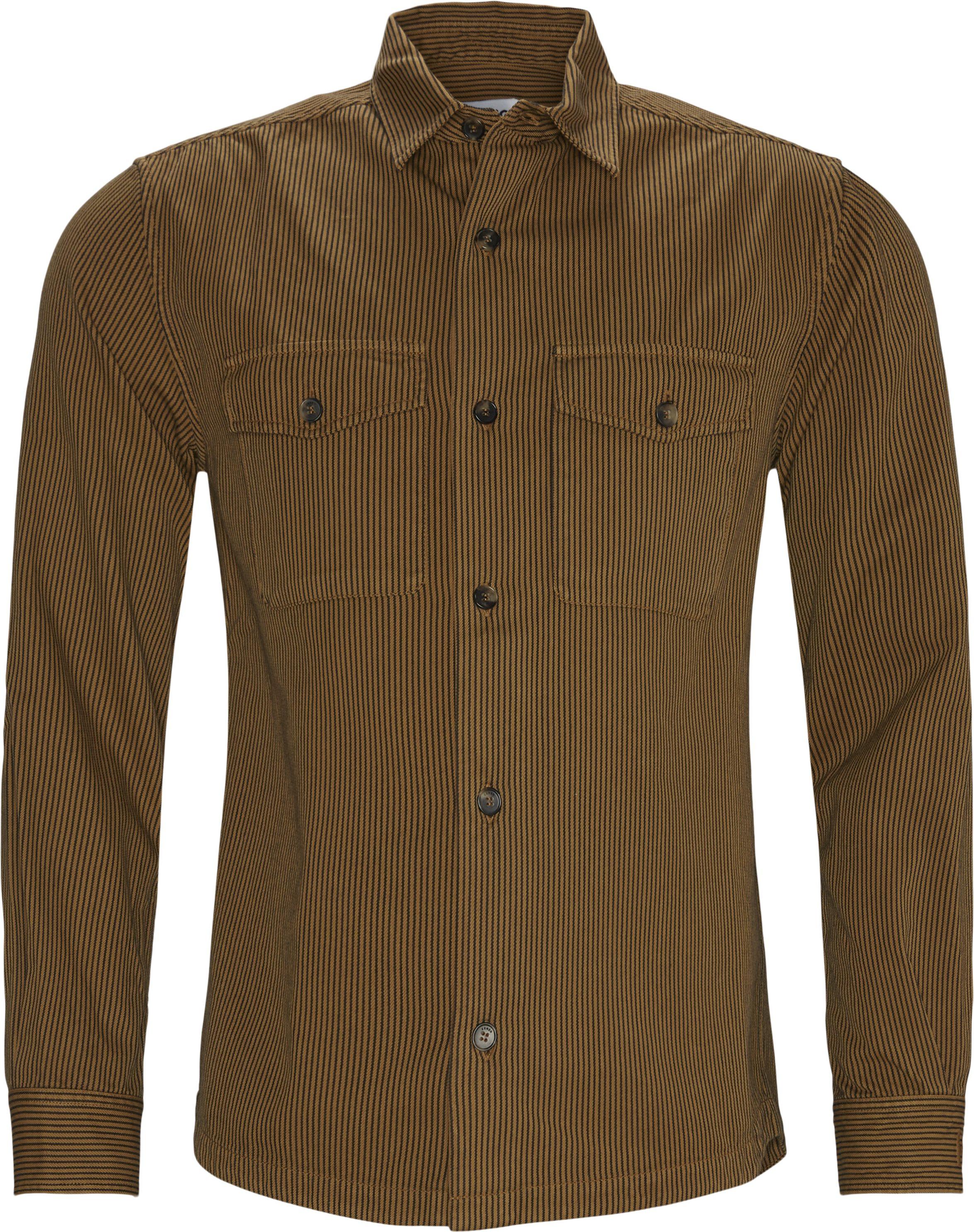 Oxford Skjorte - Skjorter - Regular fit - Brun